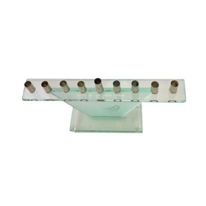 Hanukkah Menorah – Glass