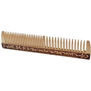 Birch Wood Hair Comb