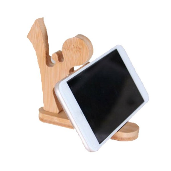 Wooden Karatist - Phone Holder