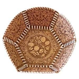 Birch Bark Decorative Plate – Strawberry Field
