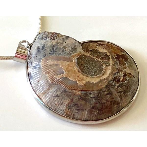 Pendant - Ammonite Vortex