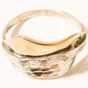 Ring – Sterling Silver and Gold Plated