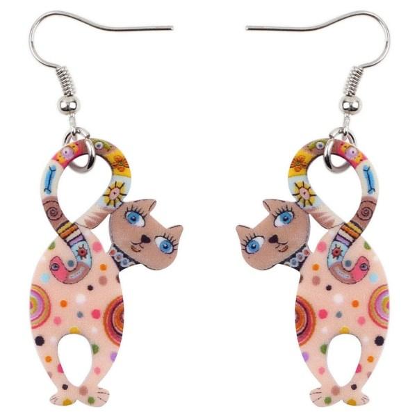 Cute Cat Shaped Earrings