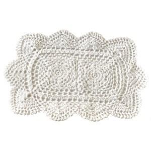 Crochet Cotton Lace Table Placemats – Rectangular