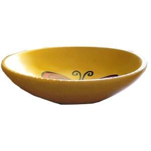 Butterfly Soapstone Dish