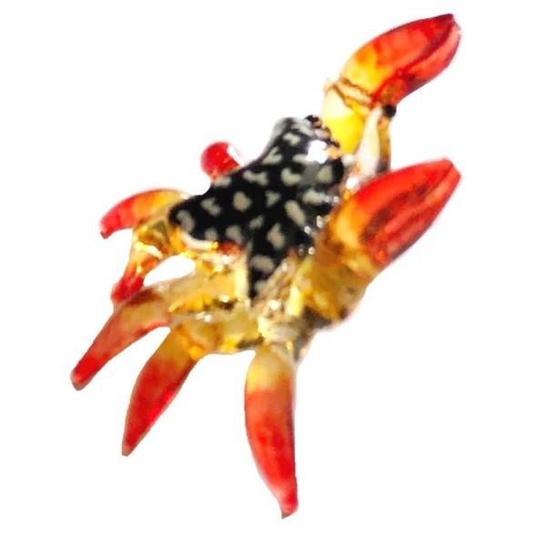 Glass Crab - Orange