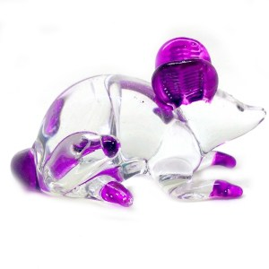 Glass Mouse – Purple