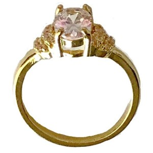 Ring – Gold Plated with Cubic Zirconia Stones