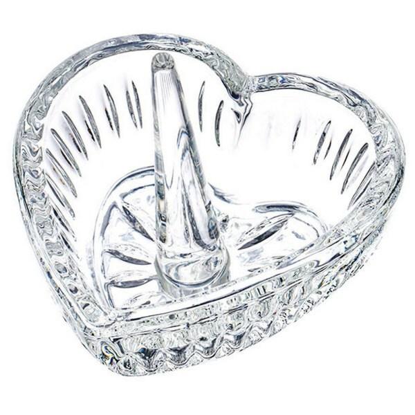 Crystal Ring Holder - Heart Shape