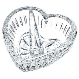 Crystal Ring Holder – Heart Shape