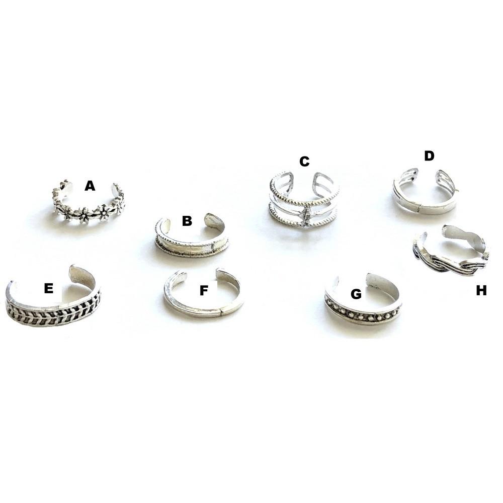 Silver Color Toe Ring