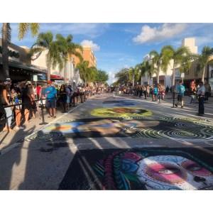 Street Painting – Lake Avenue