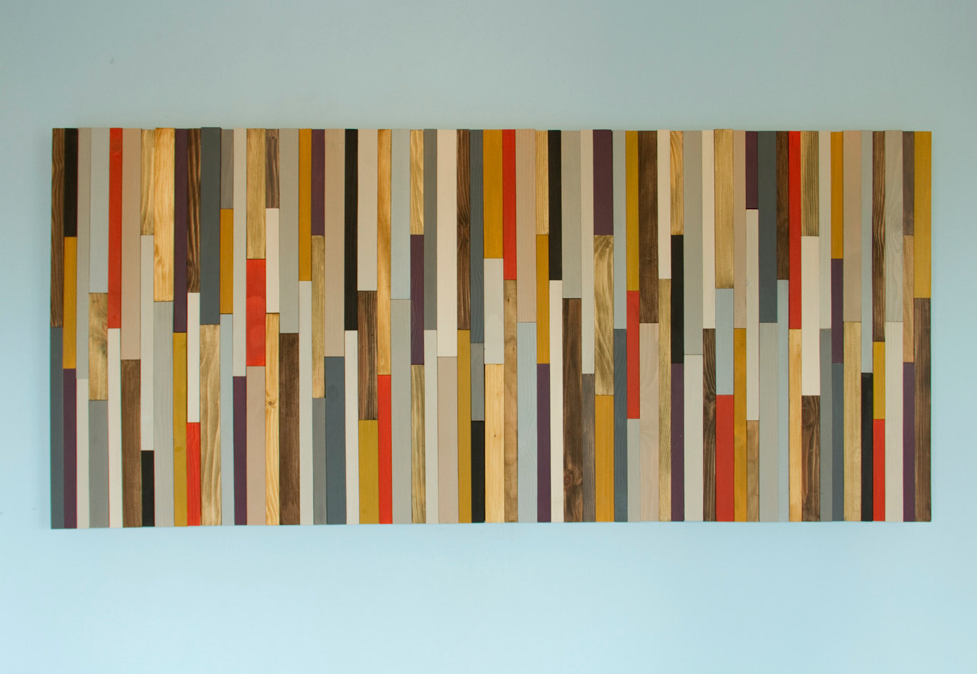 Modern Headboard Wood Wall Art Sculpture, king headboard