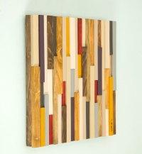 Reclaimed Wood art, reclaimed wood wall art 3D, modern, 20 ...