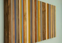 Reclaimed Wood Wall Art  Rustic Wood Decor, Modern wood