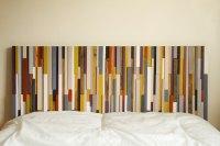 Wood Headboard Reclaimed Wood modern furniture  Art Glamour