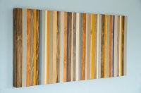Wood Wall Art, Modern wood decor, reclaimed wood sculpture