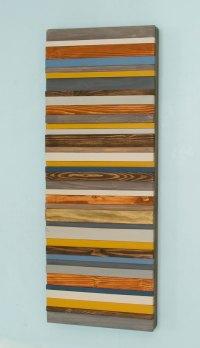 Wood Wall Art, Modern wood decor, reclaimed wood sculpture ...