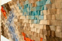 Wood Wall Rustic Art, SALE wood wall sculpture, abstract ...