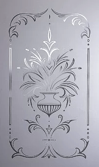 hand made glass panels acid etched sand blasted classic glass vintage style online ireland glass stained glass door glass