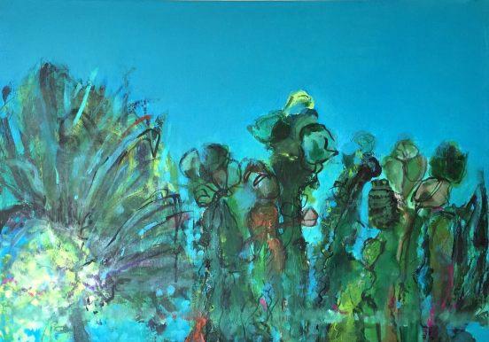 73x60 cm Acrylic on canvas 2017