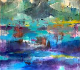 """"""" Dreaming about Greenland"""" 140x160 cm"""