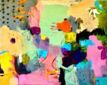 Playtime today (80x62 cm)