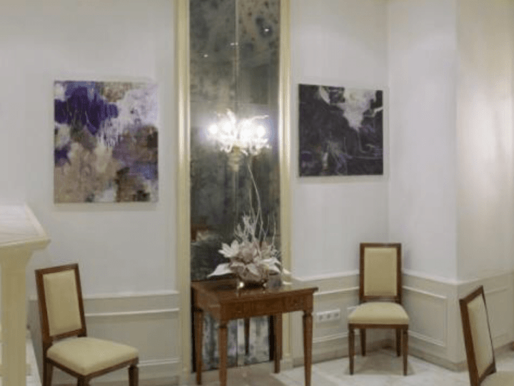 Two paintings in the Aparthotel