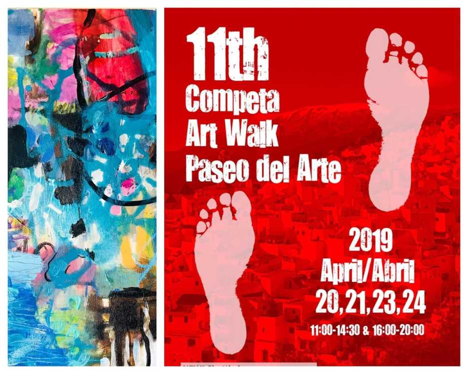 11th Art Walk Cómpeta – nearly there!  /11th Art Walk Cómpeta – ¡próximamente!