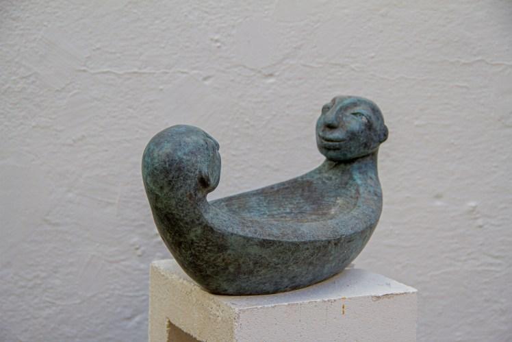 Lieuwke Loth's bronze sculpture