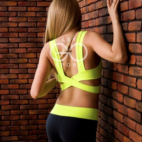Tops for sports and poledance