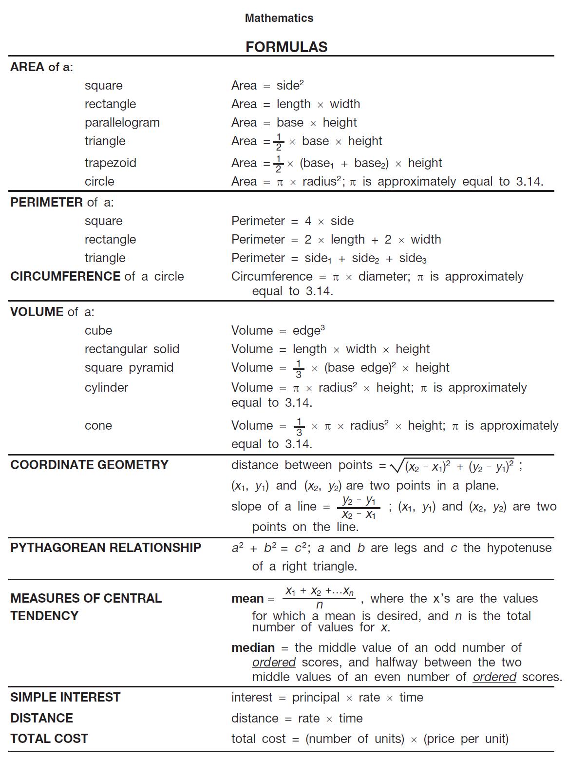Mathematical Formular Photos