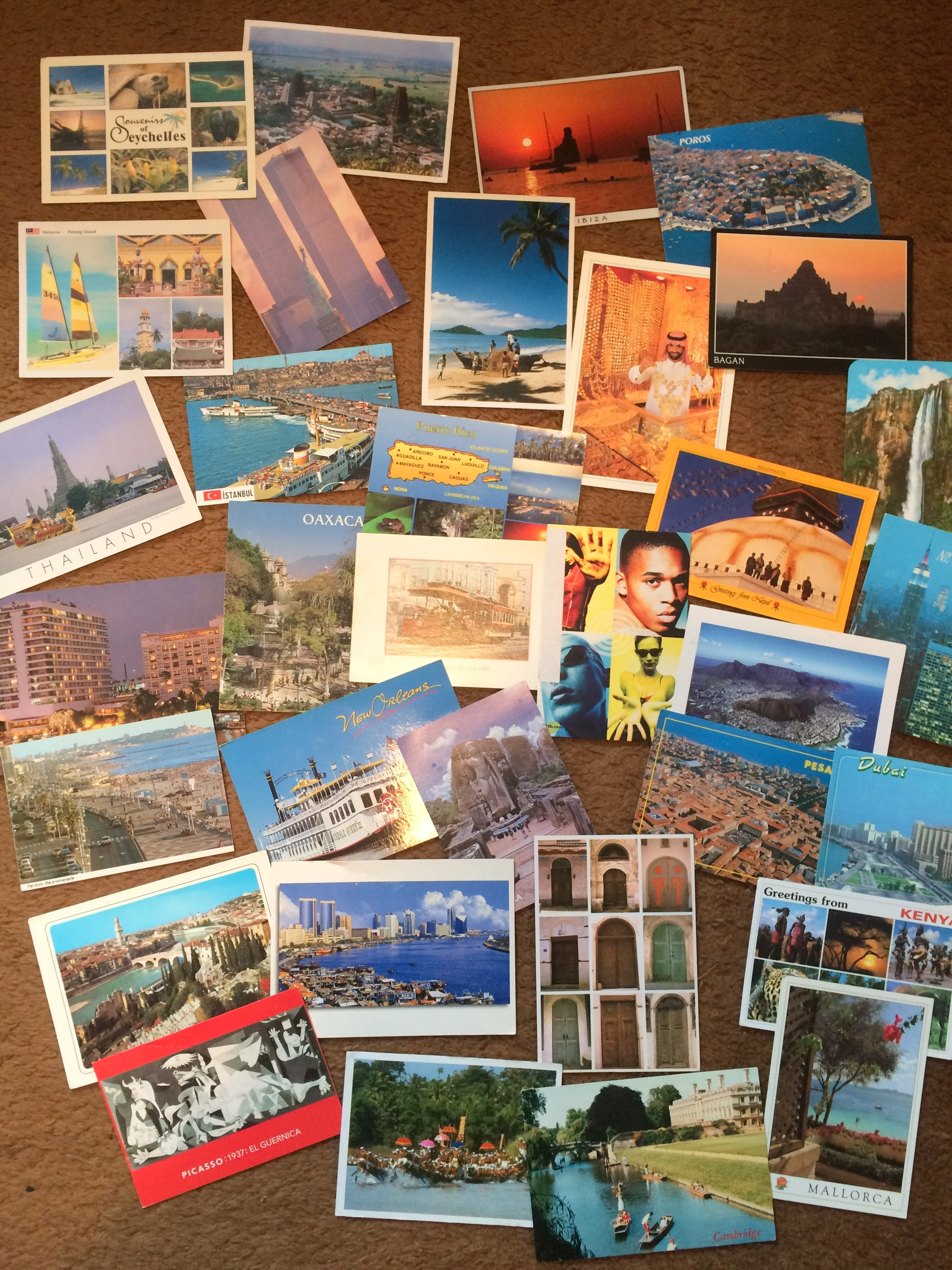 Post Cards from Everywhere