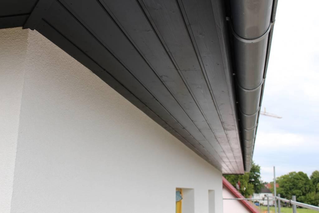 Top Dachüberstand Mit Blech Verkleiden | Flachdach Errichten Auf AZ97