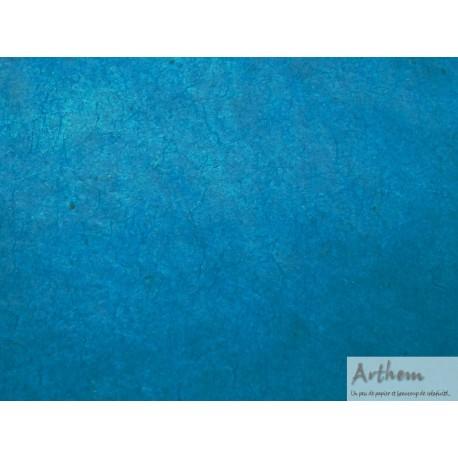 papier nepalais bleu canard fonce