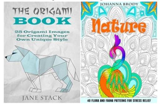 Livre coloriage gratuit, dans votre panier Amazon