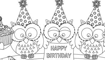 Coloriages joyeux anniversaire www - Joyeux anniversaire a colorier ...