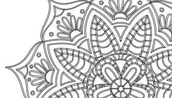 Magnifique Mandala Fleuri De Maud Feral Artherapie Ca