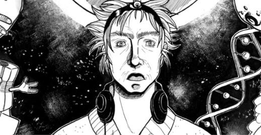 Coloriage gratuit par Dar-Chan, extraterrestre