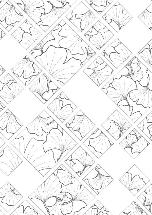 Coloriage gratuit par Chocobo, 4e obsession végétale