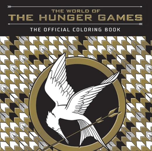 Spoiler - Media, Hunger Games coloring books