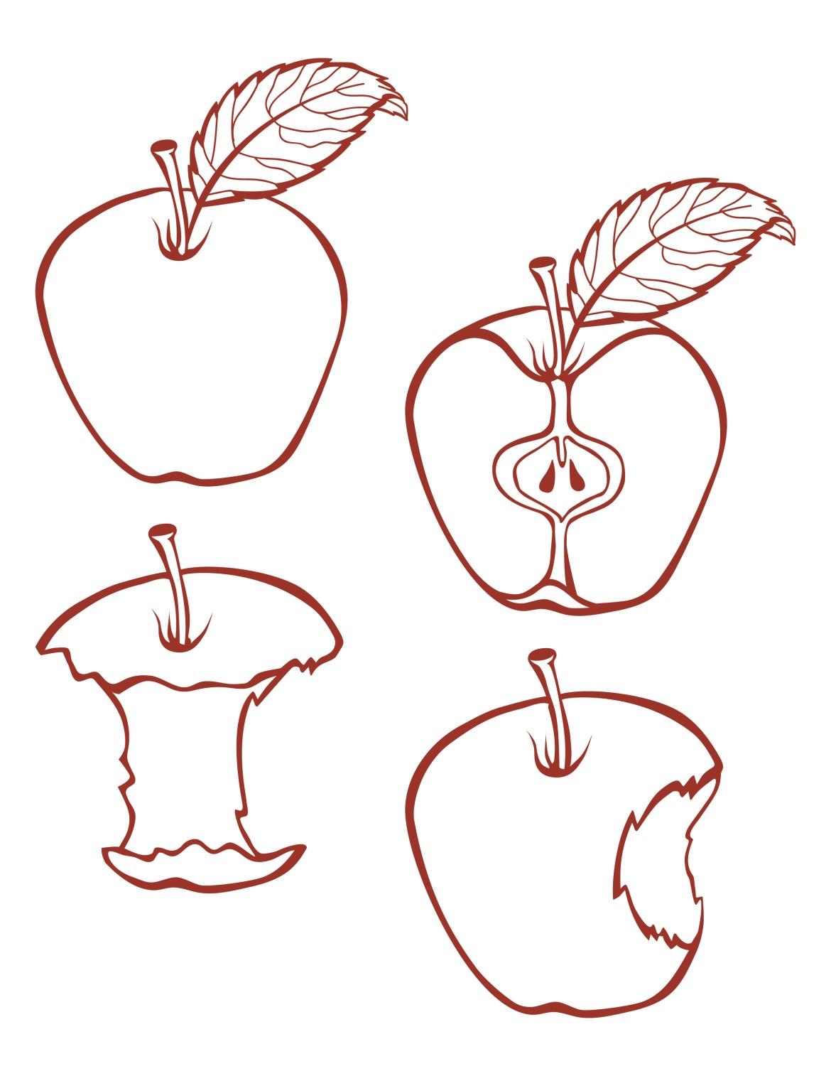 En l'honneur du iphone 7 de apple, voici une pomme