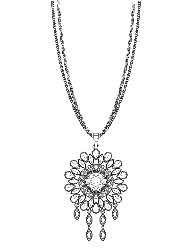 Coloriage cadeau collier femme imprimer - Cadeau coloriage ...