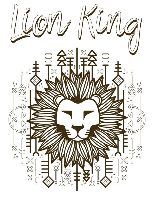 Walt Disney lion king simba roi lion