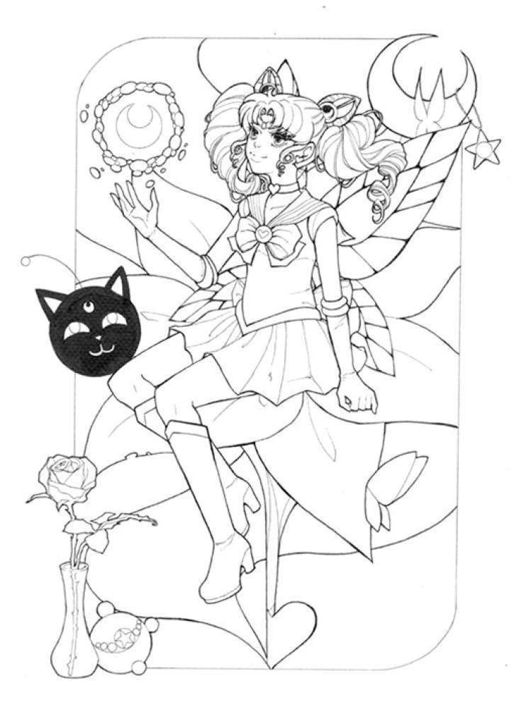 Princesse Sailor Moon par Dar-Chan à imprimer