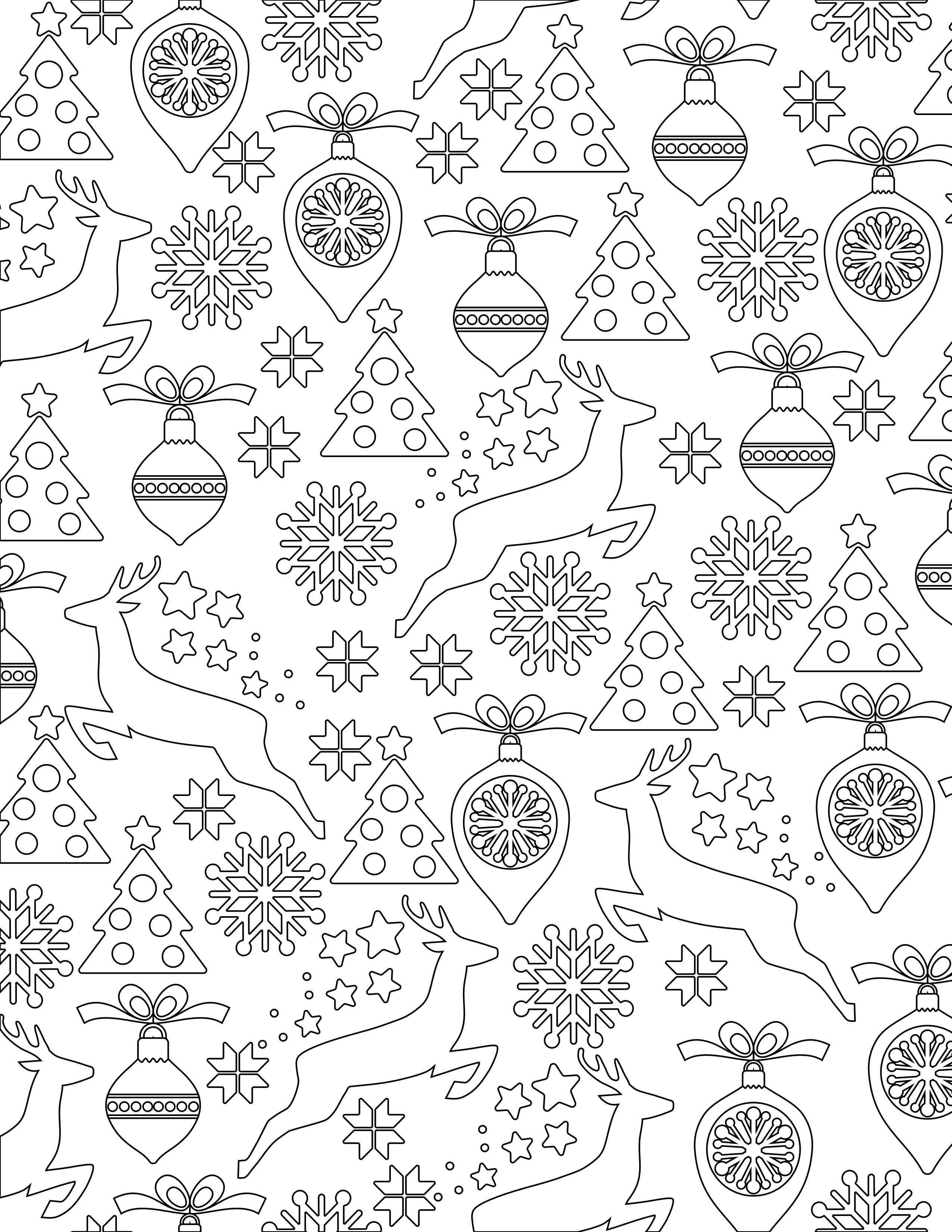 affordable dessin nol coloriage gratuit imprimer with coloriage boules de noel a imprimer