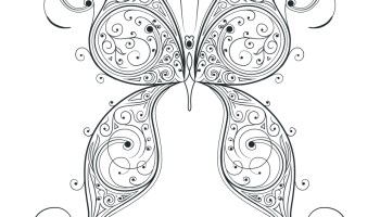 Coloriage Papillon Très Difficile à Imprimer Artherapieca