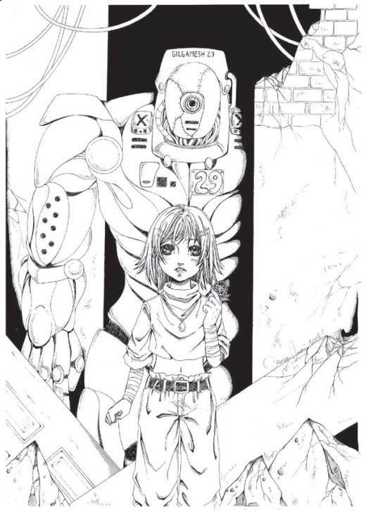 Gilgamesh anime japonnais coloriage par Dar-Chan