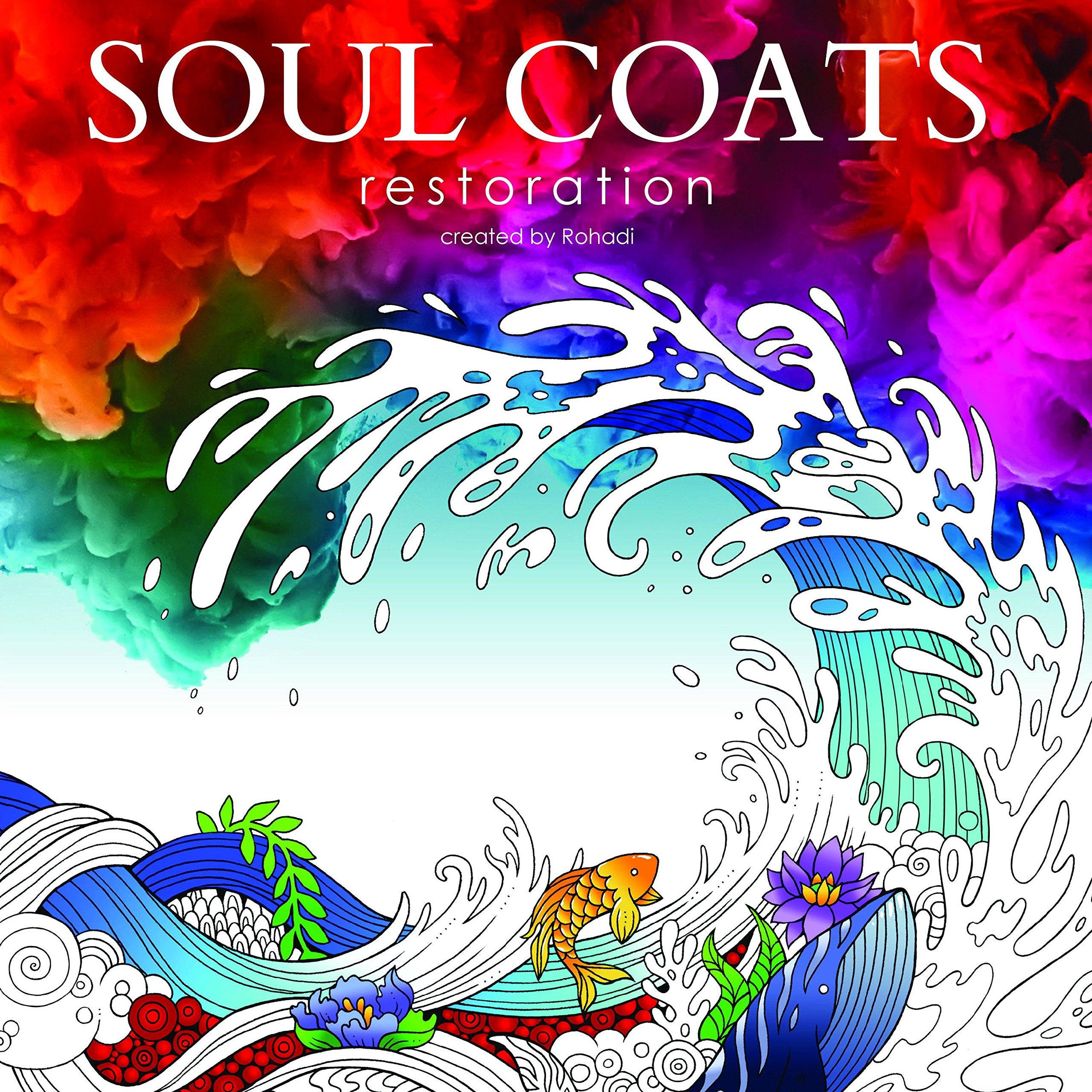 Critique du livre de coloriage Soul Coat par Rohadi