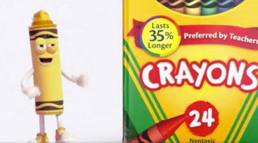 Au revoir jaune pissenlit! Crayola retirera cette couleur de la collection.
